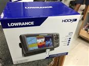 "LOWRANCE 000-12663-001 HOOK-7 BASE NOXD FISHFINDER W / 7"" DISPLAY. NEW IN BOX .B"
